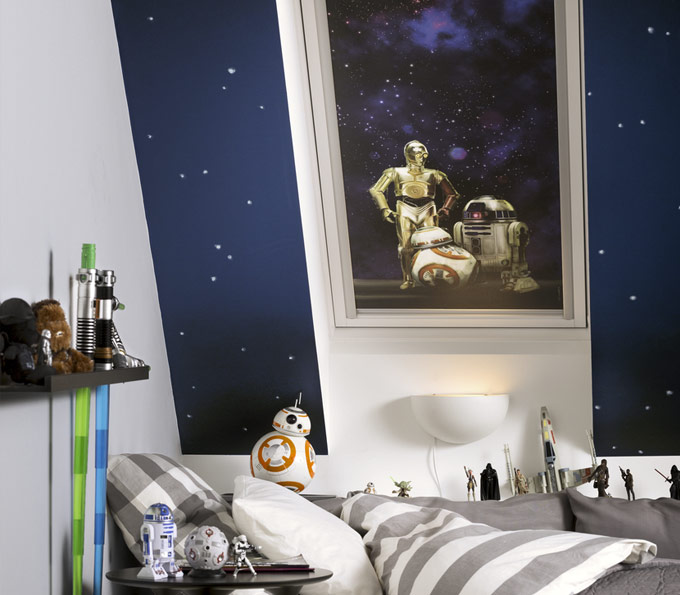 Velux Star Wars blinds