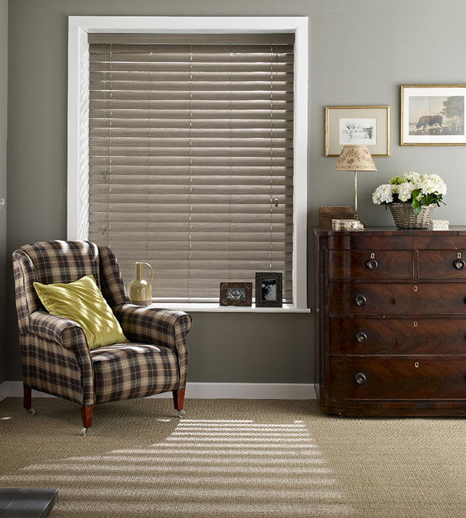 Expressions Haze wood venetian blinds